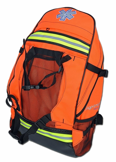 Front view of Lightning X First Responder First Aid Kit Backpack