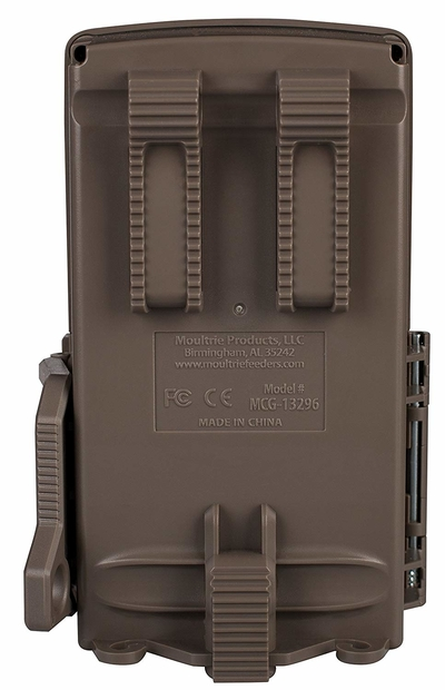 Back view of Moultrie A-25 Game Camera