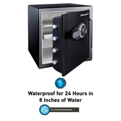SentrySafe Fire and Water XL Dual Lock