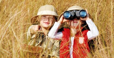 we tested the best kids' binoculars on th emarket