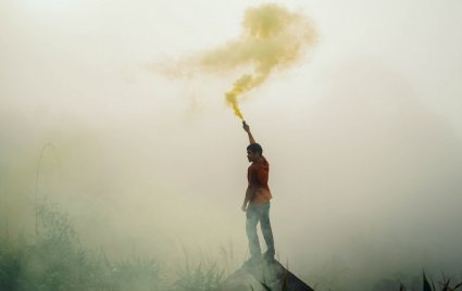 An in depth guide covering the history of smoke signals and how to send them.