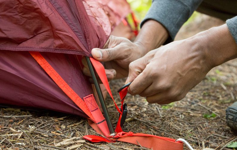common mistakes when setting up tent