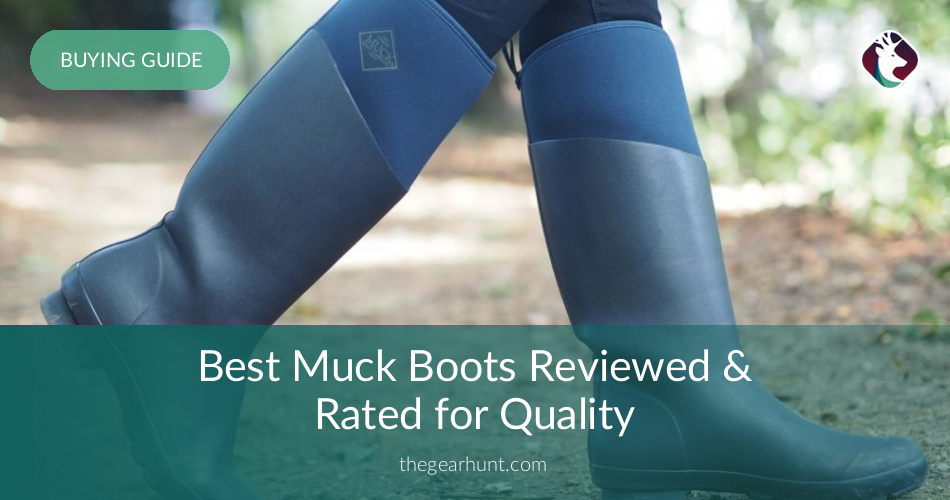 a27ee53f2 10 Best Muck Boots Reviewed and Rated in 2019